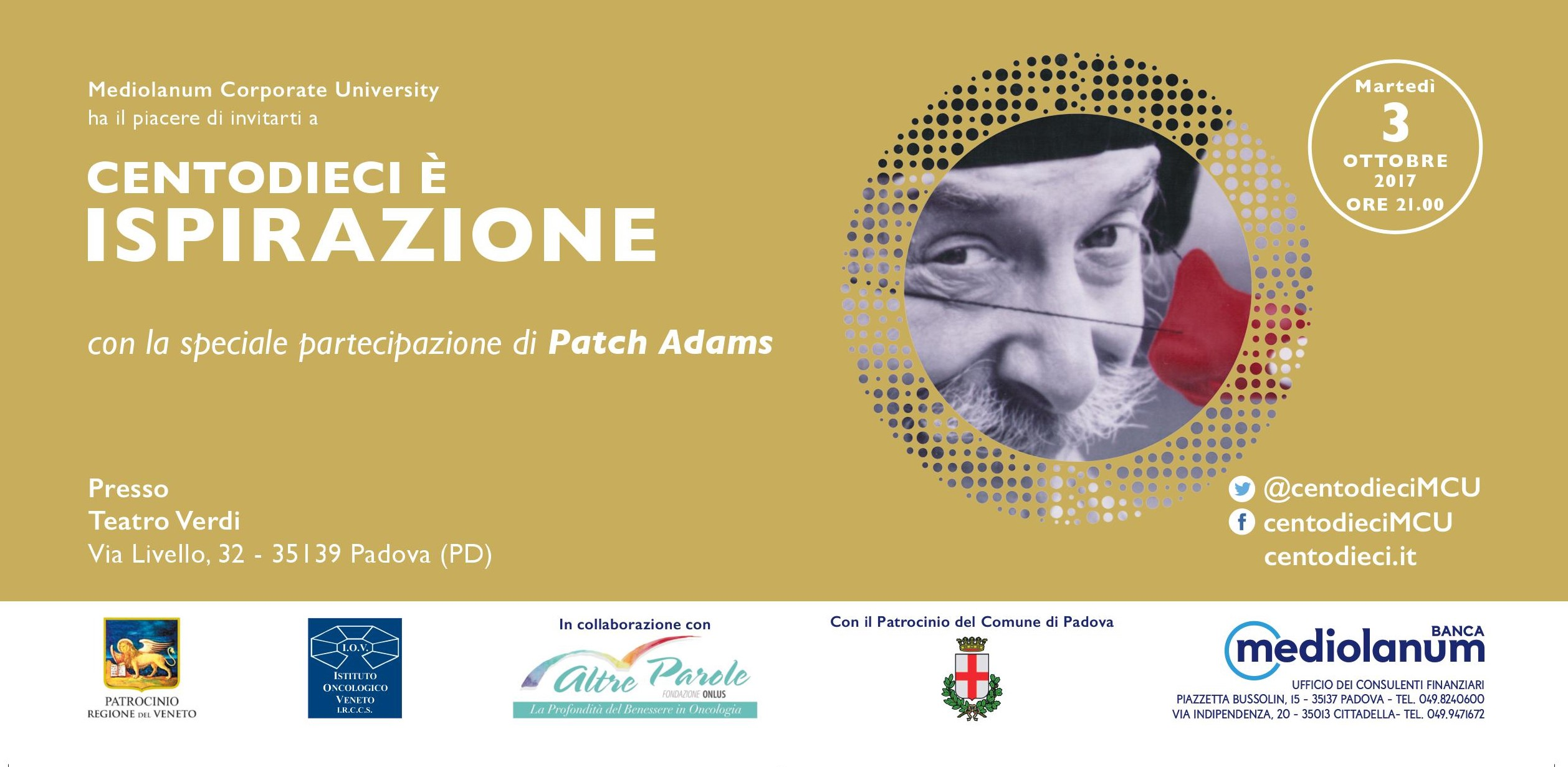 Patch Adams al Teatro Verdi a Padova