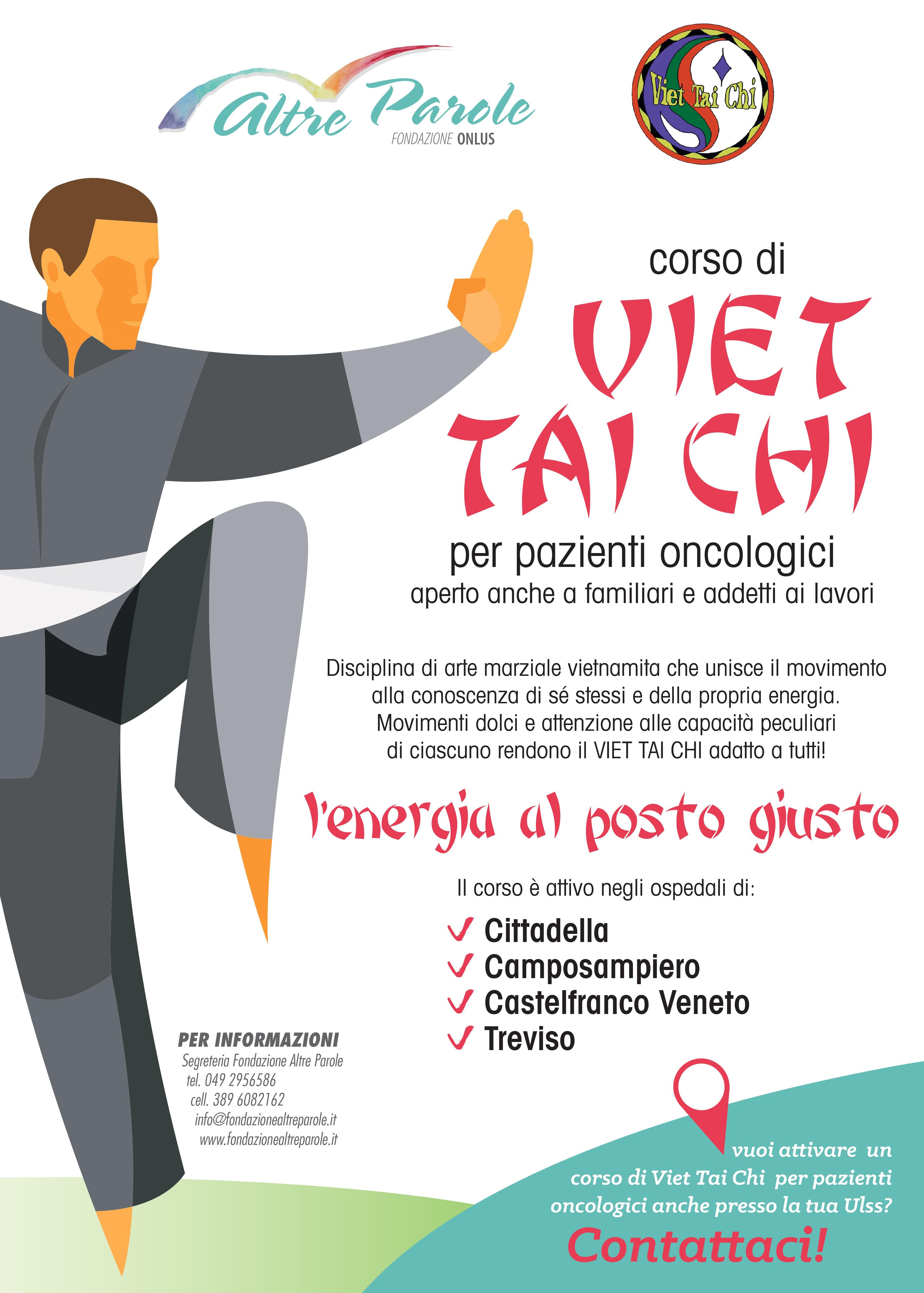 Viet Tai chi per l'oncologia e i suoi pazienti