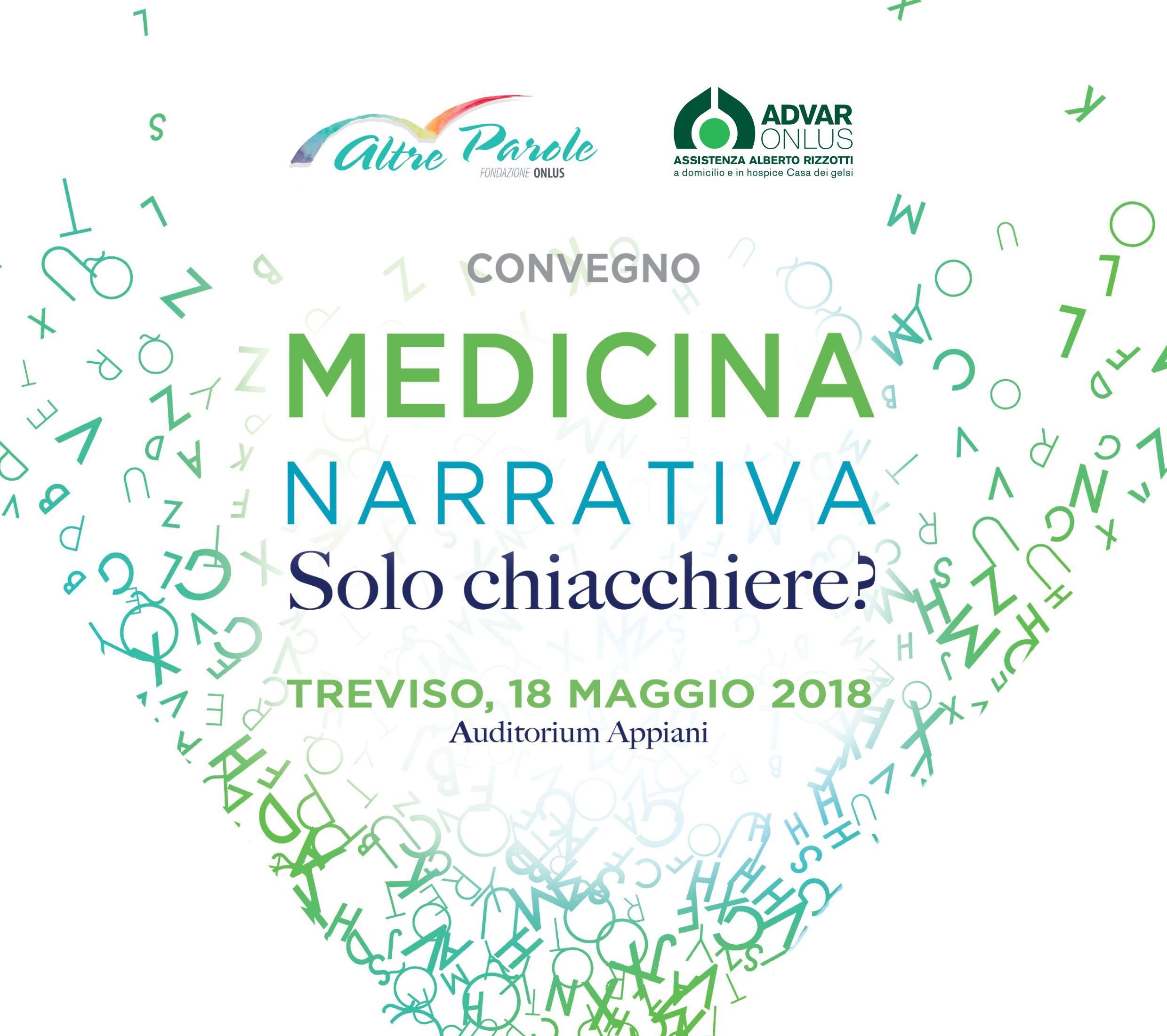 Convegno di medicina narrativa del 18 maggio 2018